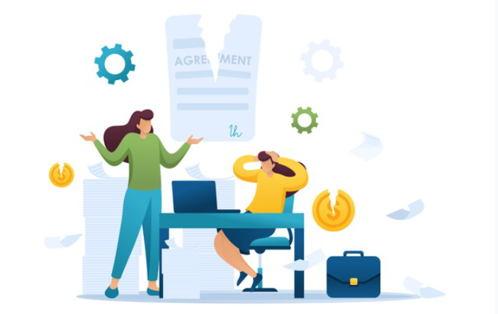 قوانین انحلال قرارداد پیمانکاری,کارفرما می تواند پیمان را موارد زیر فسخ نماید:,انحلال قرارداد پیمانکاری از سوی پیمانکار